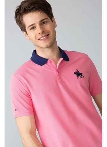 U.S.Polo Assn. Polo Yaka Tişört Pembe